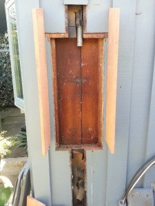 Old panel removed in Palo Alto