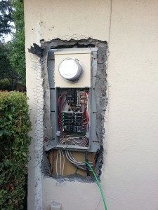 Old 100Amp panel to be replaced with a 200Amp SQUARE-D panel