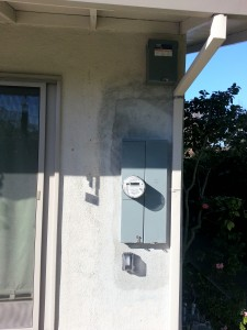Sunnyvale panel upgrade with whole house surge protector.  Both units are by SQUARE-D