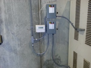 Hazardous commercial facility in Milpitas.  Installed (2) 30Amp circuit for forklift chargers.