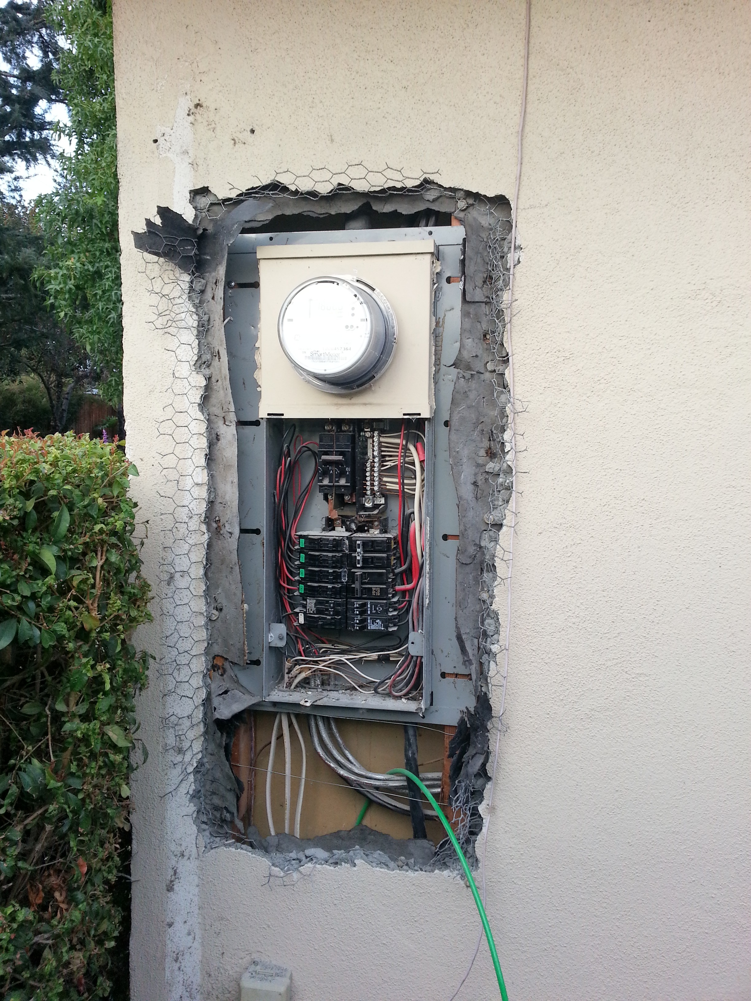 Old 100amp Panel To Be Replaced With A 200amp Square D